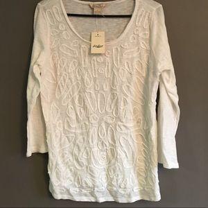 Lucky brand soutache shirt - 2 for $25